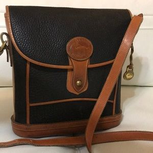 DOONEY & BOURKE LEATHER CROSSBODY PURSE